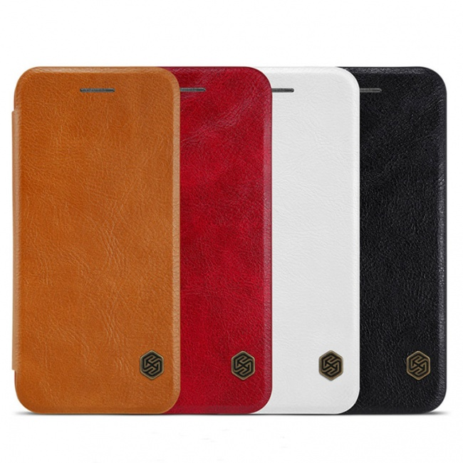 کیف محافظ چرمی نیلکین Nillkin Qin Leather Case For Apple iPhone 8 Plus