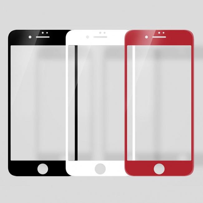 محافظ صفحه نمایش گلس تمام صفحه نیلکین Nillkin CP+MAX 3D Glass Screen Protector For Apple iPhone 8 Plus