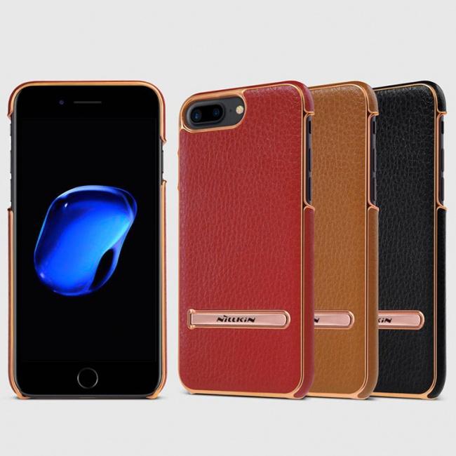 قاب محافظ چرمی نیلکین Nillkin M-Jarl Leather Case For Apple iPhone 8 Plus