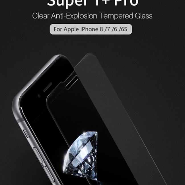 محافظ صفحه نمایش گلس نیلکین Nillkin T+Pro Glass Screen Protector For Apple iPhone 8