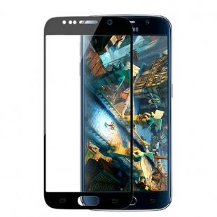 محافظ صفحه نمایش شیشه ای مشکی Samsung Galaxy S6