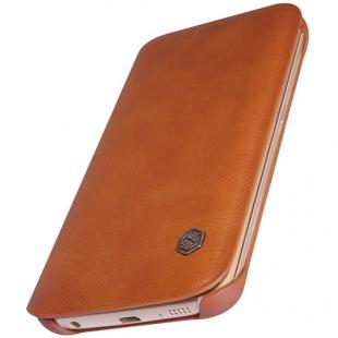 کیف چرمی  Galaxy S6 Edge