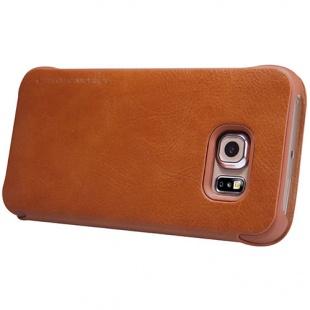کیف چرمی  S6 Edge Qin