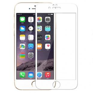 محافظ صفحه نمایش شیشه ای سفید +Apple iPhone 6 CP