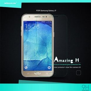 محافظ صفحه نمایش شیشه ای Galaxy J7 Amazing H