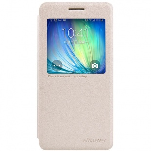 Samsung Galaxy A5(A5000) NEW LEATHER CASE- Sparkle Leather Case