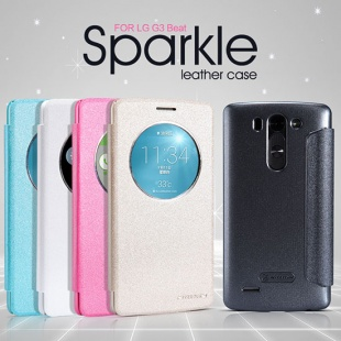 LG G3 Beat NEW LEATHER CASE- Sparkle Leather Case