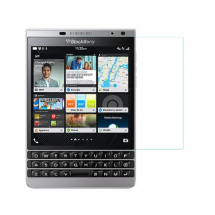 محافظ صفحه نمایش شیشه ای BlackBerry Passport Silver Edition Amazing H