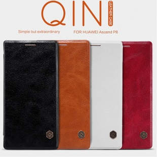 HUAWEI Ascend P8 Qin leather case