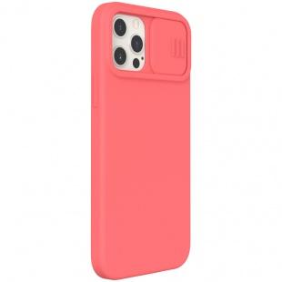 قاب محافظ نیلکین CamShield Silky silicone case for iPhone 12 Pro Max