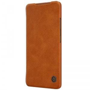 کیف چرمی محافظ گوشی موبایل  سامسونگ s21 قهوه ای