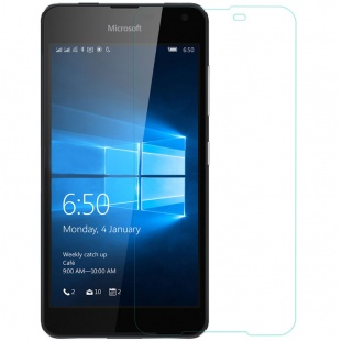 محافظ صفحه نمایش شیشه ای Microsoft Lumia 650 H Anti-Explosion Glass Screen Pr