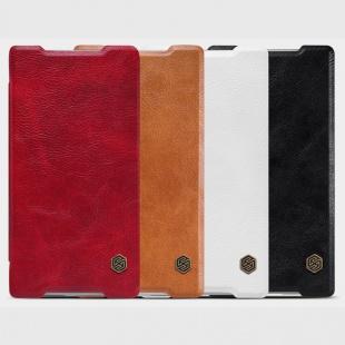 کیف چرمی Sony Xperia Z5 Qin leather case