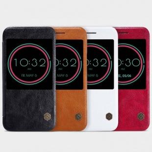 کیف چرمی نیلکین HTC 10(10 Lifestyle) Qin leather case