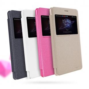 کیف محافظ نیلکین Nillkin Sparkle Leather Case For Huawei Honor V8