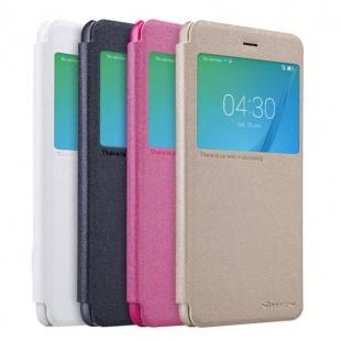 کیف محافظ چرمی نیلکین Nillkin Sparkle Leather Case For Huawei Nova