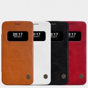 کیف چرمی LG G5 Qin leather case