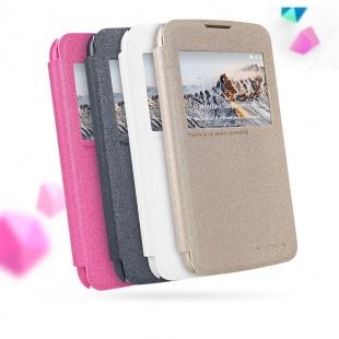 کیف محافظ LG K4 NEW LEATHER CASE- Sparkle
