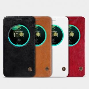 کیف محافظ چرمی نیلکین Nillkin Qin Leather Case For Asus Zenfone 3 ZE552KL