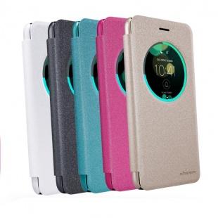 کیف محافظ چرمی نیلکین Nillkin Sparkle Leather Case For Asus Zenfone 3 ZE552KL