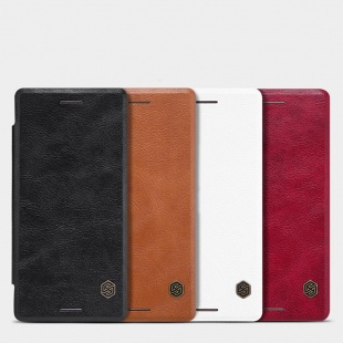 کیف چرمی Sony Xperia X Performance Qin leather case