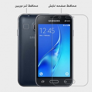 محافظ صفحه نمایش نیلکین Nillkin Super Clear Anti-fingerprint For Samsung Galaxy J1 Mini