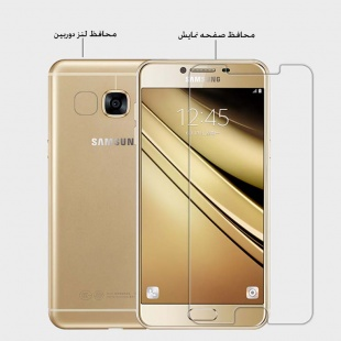 محافظه صفحه نمایش نیلکین Nillkin Super Clear Anti- fingerprint Protective Film For Samsung Galaxy C5