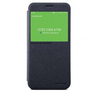 کیف محافظ  Nillkin NEW LEATHER CASE-Sparkle Leather Case For Samsung Galaxy C9 Pro
