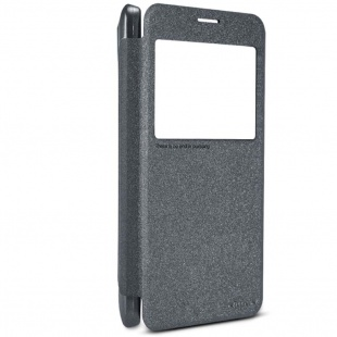 کیف چرمی Nilllkin NEW LEATHER CASE-Sparkle Leather Case For Samsung Galaxy Mega 2