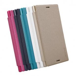 کیف محافظ Sony Xperia X Compact NEW LEATHER CASE- Sparkle