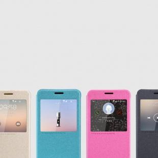 کیف محافظ Nillkin New leather Case-Sparkle For Samsung Galaxy Alpha