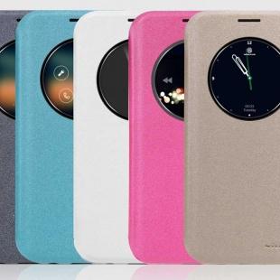 کیف محافظ نیلکین NILLKIN NEW LEATHER CASE-Sparkle Leather Case For Samsung Galaxy S7 Edge
