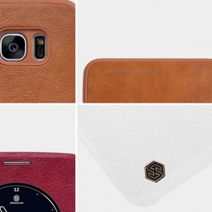 کیف محافظ نیلکین Nillkin Qin leather case For Samsung Galaxy S7 Edge