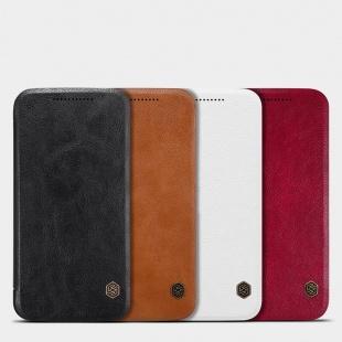 کیف چرمی MOTO G4 Plus Qin leather case
