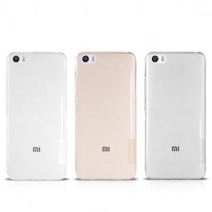 قاب محافظ ژله ای نیلکین Nillkin Nature TPU Case For Xiaomi M5