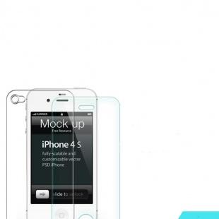 محافظ صفحه نمایش شیشه ای نیلکین Apple iphone 4/4S H+Anti-Explosion Glass