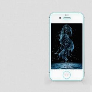 محافظ صفحه نمایش شیشه ای  Apple iphone 4S/4 H Anti-Explosion Glass