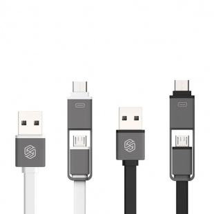 کابل دو سر تایپ سی و میکرو یو اس بی نیلکین Nillkin Plus Cable Micro to Type-C