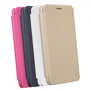 کیف محافظ چرمی نیلکین Nillkin Sparkle Leather Case For Asus Zenfone 3S Max ZC551TL