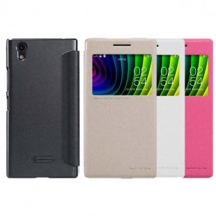 کیف محافظ نیلکین Lenovo P70 Sparkle Leather Case