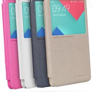 کیف محافظ نیلکین Samsung A5100 Sparkle Leather Case