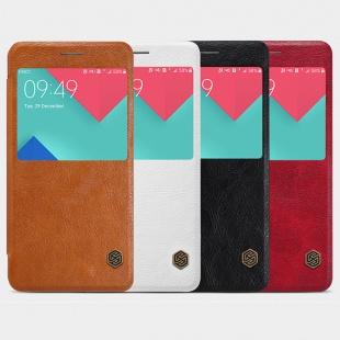 کیف چرمی نیلکین Samsung A5100 Qin leather case