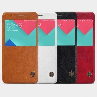 کیف چرمی نیلکین Samsung A7100 Qin leather case