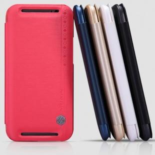 کیف محافظ نیلکین HTC One M8 Rain Series Leather Case
