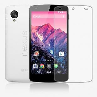 محافظ شفاف صفحه نمایش نیلکین LG Nexus 5 Super Clear Anti-fingerprint