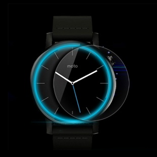 محافظ صفحه نمایش شفاف نیلکین Nillkin Super Clear Screen Protector For Motorola New Moto 360 42mm