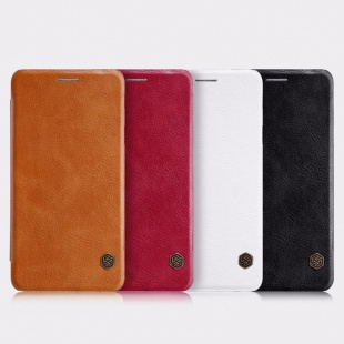 کیف محافظ چرمی نیلکین Nillkin Qin Leather Case For Samsung Galaxy J7 Max