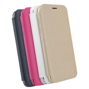 کیف محافظ چرمی نیلکین Nillkin Sparkle Leather Case For Samsung Galaxy J7 2017