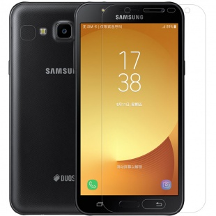 محافظ صفحه نمایش شفاف نیلکین Nillkin Super Clear Screen Protector For Samsung Galaxy J7 Nxt