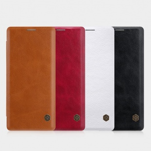 کیف محافظ چرمی نیلکین Nillkin Qin Leather Case For Samsung Galaxy Note 8